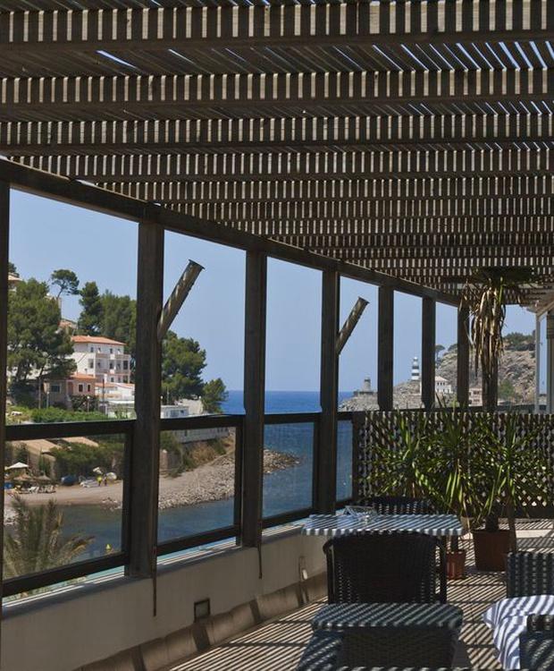Terraza Hotel Los Geranios