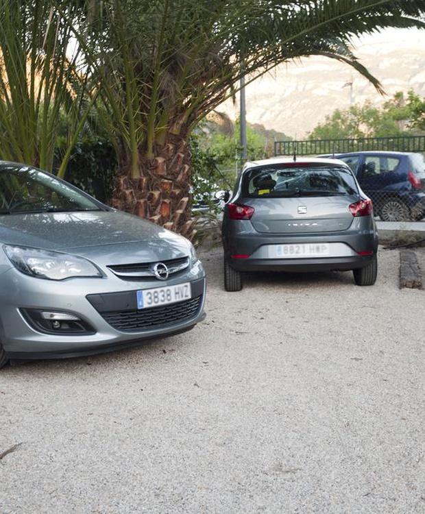 Estacionamiento Hotel Los Geranios