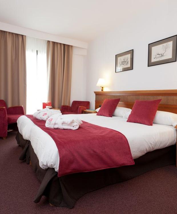 Habitación confortable Hotel Los Geranios