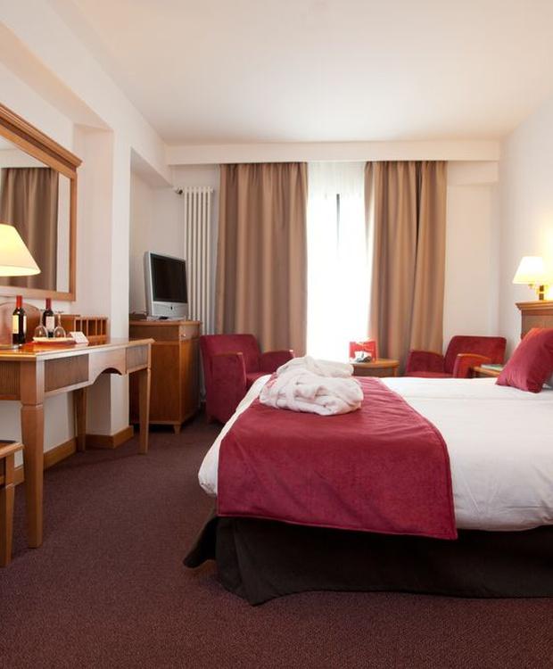 Habitación doble confortable Hotel Los Geranios